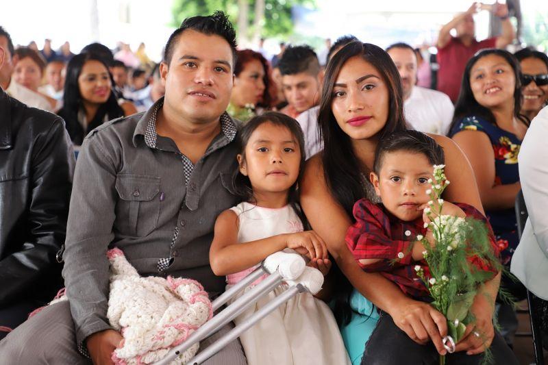 Bodas Comunitarias en Chicoloapan