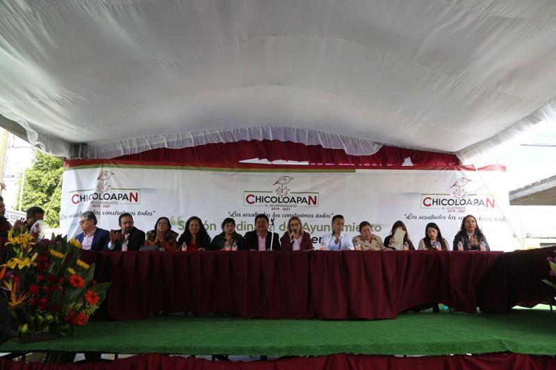Se celebra la 53a Sesión de Cabildo abierto al publico en Barrio San Antonio.