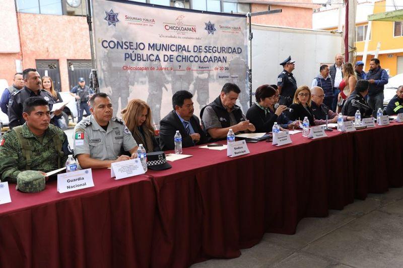 Se realizó la 7ma Sesión Ordinaria del Consejo Municipal de Seguridad Pública